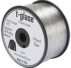 Filament Taulman t-glase PETT CoPolymer Transparent 1.75mm 0.45 Kg